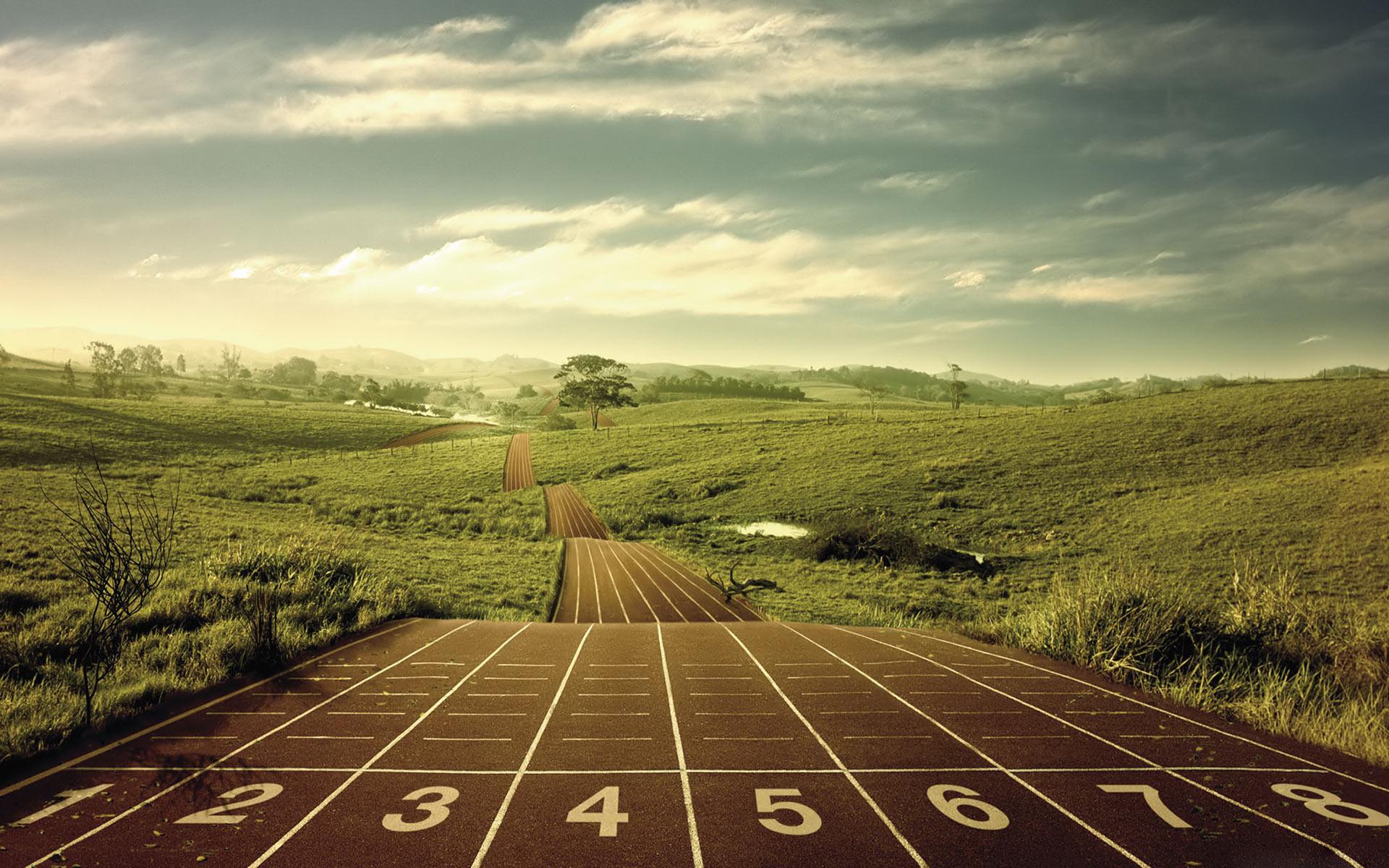 Long-Distance-Running-Desktop-Wallpaper