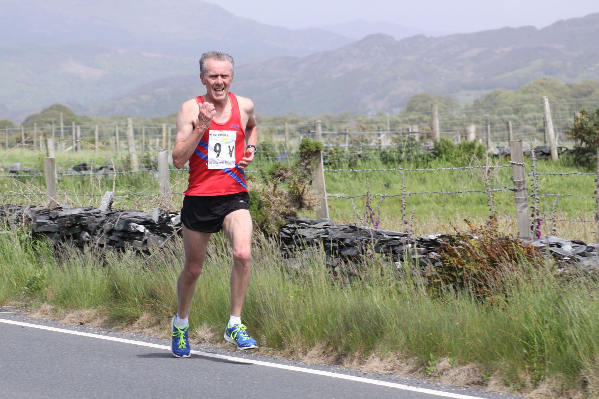 "Ian Keyte ran leg 4 Maentwrog to Harlech Castle in 61'58"" finishing 8th out of  63. Photo by Pete Hawcroft"