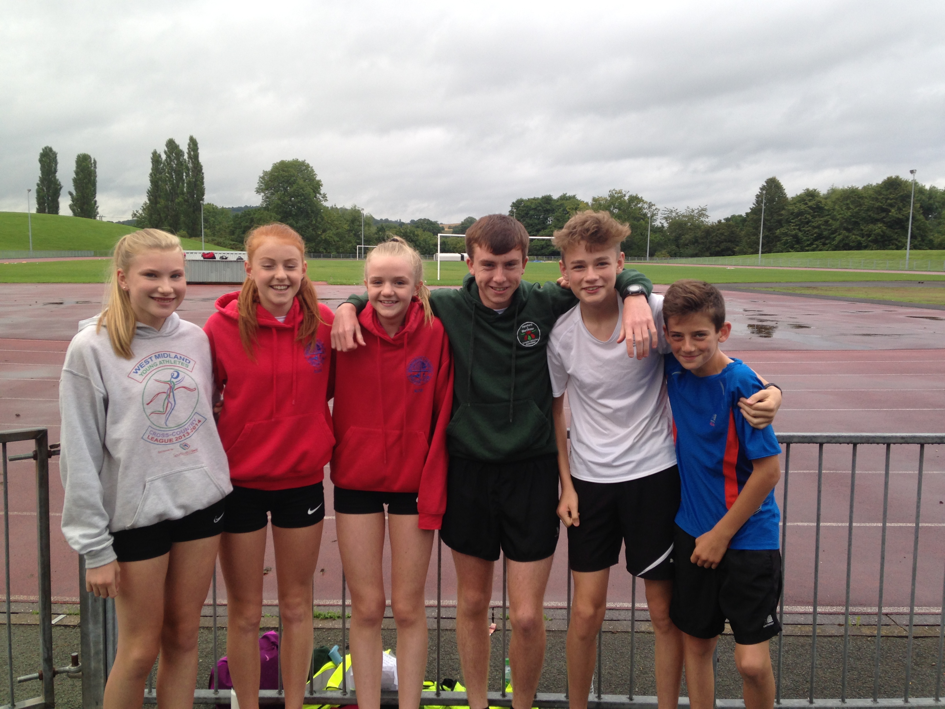 Ellie Moss, Ellen Bowen, Alice Battey, Conor Smith, Tom Deykin, Josh Robins.