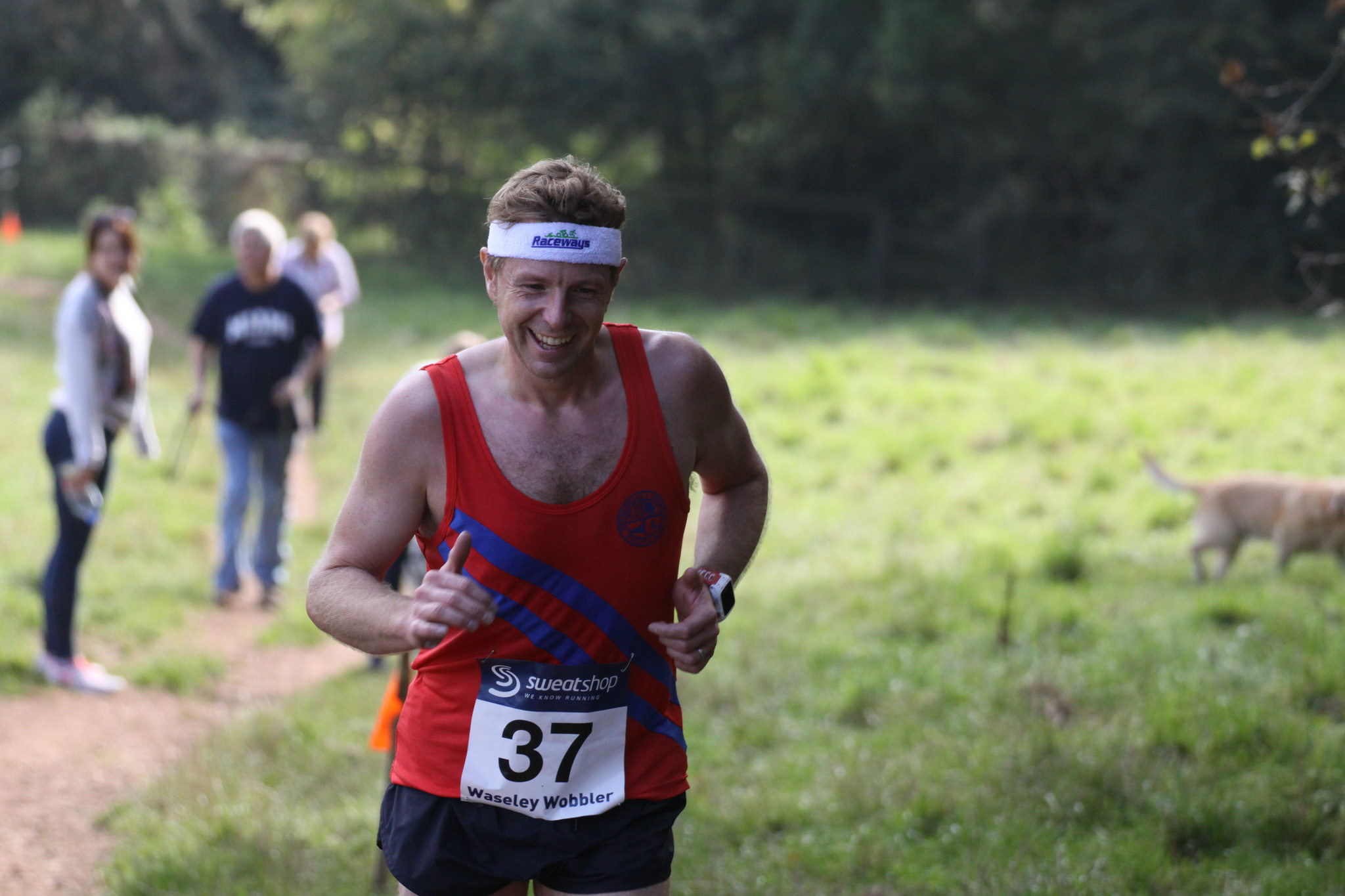 First male Bromsgrove and Redditch athlete Mark Tanner