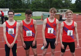 U17 4x400 Relay Team - Will Thorley, Stewart Greenhalgh, George Clements, Josh Pearson