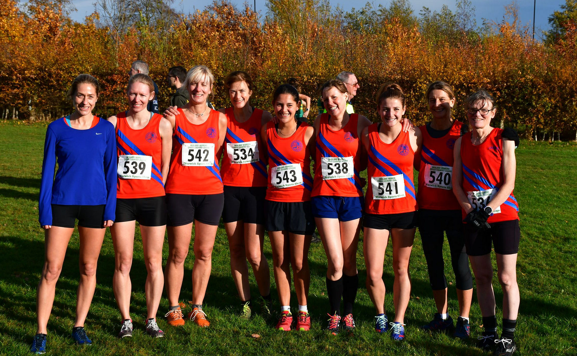 Cross Country League Results 10/11/18